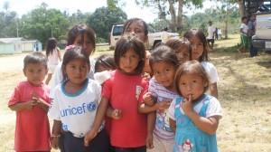 Uwottyja children in the Amazon community of Samaria in Venezuela. Credit: Humberto Márquez/IPS