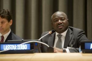 Dr. Lassina Zerbo. Credit: UN Photo/Evan Schneider