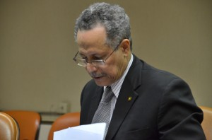 Newly appointed ACP Secretary General, Ambassador Dr Patrick Gomes from Guyana. Credit: Valentina Gasbarri/IPS