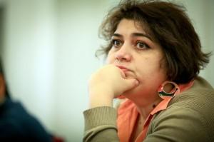 Khadija Ismayilova, an Azerbaijani investigative journalist critical of the government of President Ilham Aliyev, was detained Dec. 5 in the capital Baku. Credit: Aziz Karimov