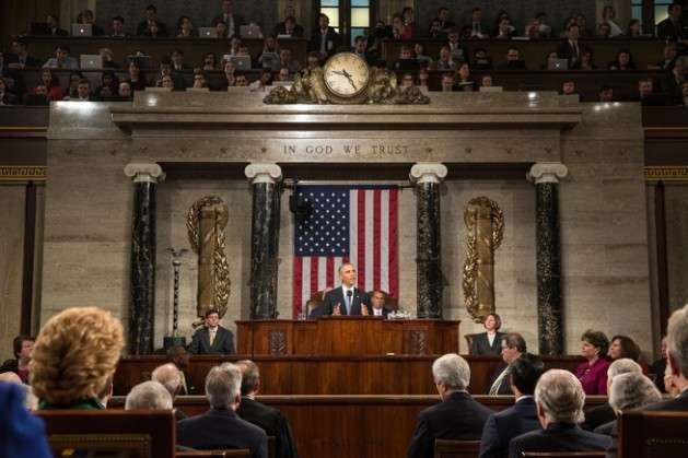 President Barack Obama delivers the State of the Union address in the House Chamber at the U.S. Capitol in Washington, D.C., Jan. 20, 2015. Credit: Official White House Photo by Pete Souza