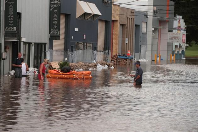Flooding is declared a natural disaster Jan. 12, 2011 in Brisbane, Australia. Credit: Bigstock