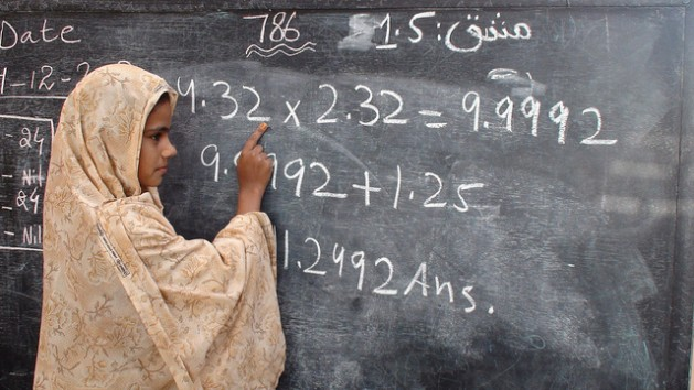Girls who report that their domestic chores interfere with their schooling are three times more likely to drop out. Credit: Zofeen Ebrahim/IPS