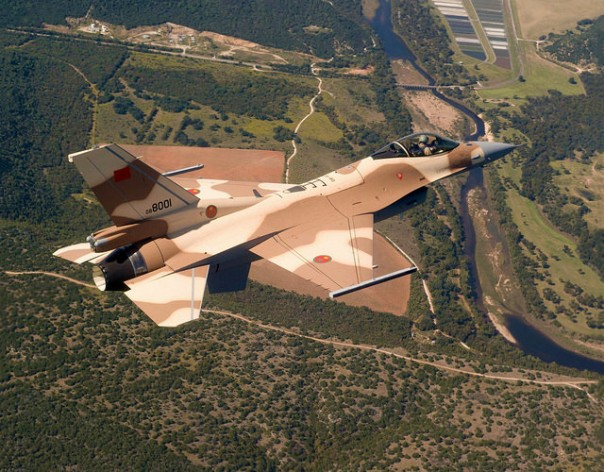 Morocco is also participating in Operation Decisive Storm, with at least six fighter aircraft. Credit: ra.az/cc by 2.0