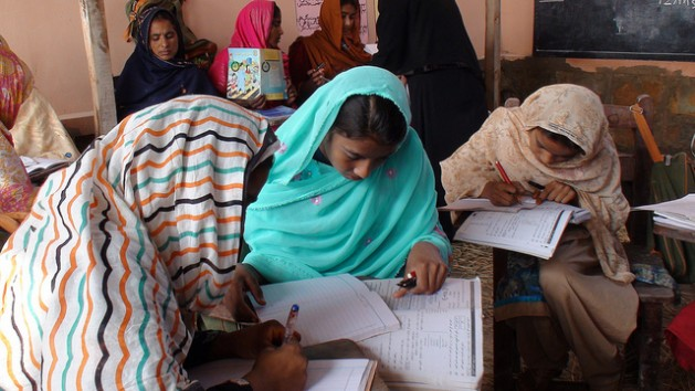 Strengthening women's positions, and giving them the opportunity to fully participate in society is necessary if we are to achieve the SDG targets. Credit: Farooq Ahmed/IPS