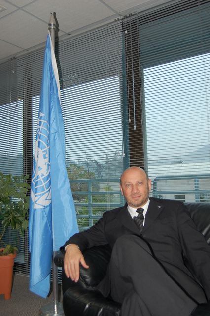 FAO regional representative Raúl Benítez at his office in the agency's regional office in Santiago. Credit: Marianela Jarroud/IPS