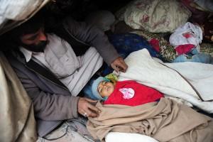 UNICEF estimates that 3.5 million children in Pakistan suffer from acute malnutrition. Credit: Ashfaq Yusufzai/IPS