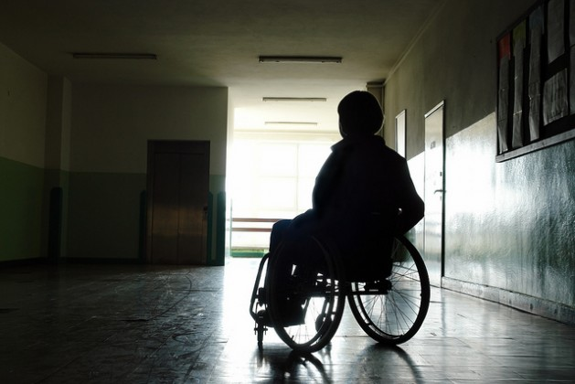 Disability and poverty are interrelated, due to discrimination and lower education and employment levels. Credit: Bigstock