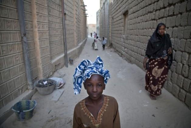 Portrait of a girl in Timbuktu, Mali. Credit: UN Photo/Marco Dormino