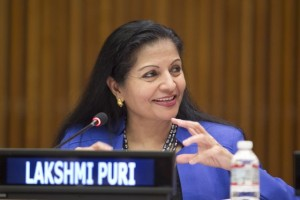 Lakshmi Puri, Deputy Executive Director of U.N. Women. Credit: U.N. Photo/Rick Bajornas