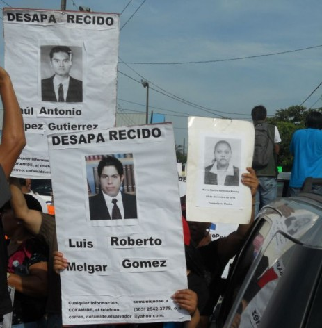 Families demand official investigations into the fate of missing migrants, and the creation of a database. Credit: Emilio Godoy/IPS