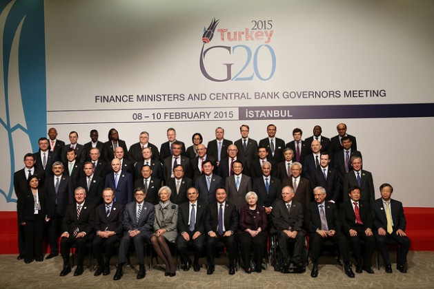 The Finance Ministers and Central Bank Governors of the G20. Credit: TCMB/cc by 2.0