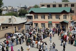 A hospital in Srinagar, Kashmir. Credit: Umer Asif/IPS