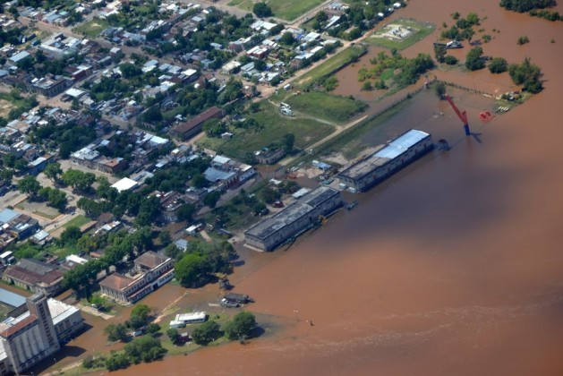 In Uruguay 22,414 people have been displaced by the floods that have affected the countries of the Mercosur trade bloc. Credit: Sistema Nacional de Emergencias (Sinae)
