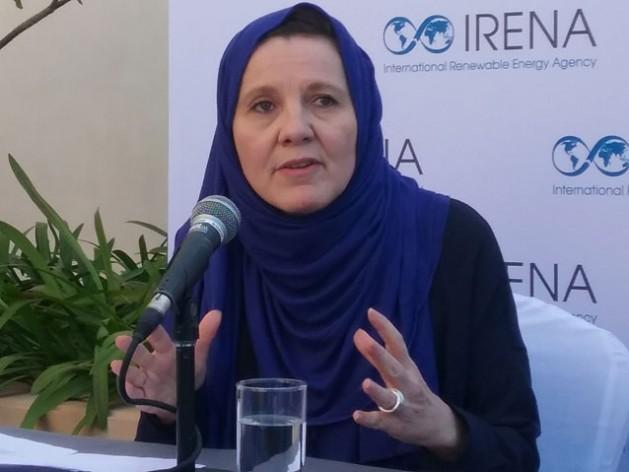 Dr. Rabia Ferrouki, IRENA Policy leader. Credit Wambi Michael/IPS