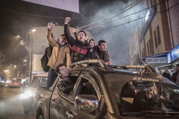 Local youths join the anti-mining protests in Artvin, Turkey. Credit: Sener Yılmaz Aslan/MOKU / IPS