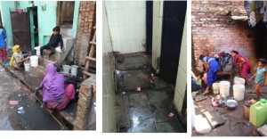 Water and Sanitation Challenge in Ekta-Vihar Slum in New Delhi