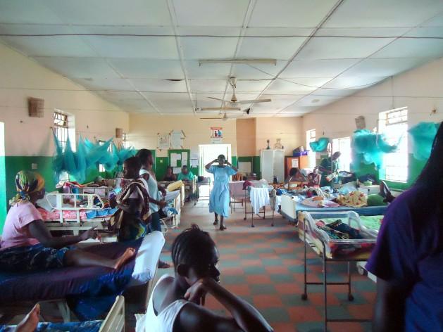 A Maternity ward in Port Loko, Sierra Leone. Credit: Mohamed Fofanah/IPS.