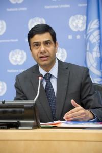 Gyan Chandra Acharya, Under-Secretary-General for Least Developed Countries (LDCs), Landlocked Developing Countries and Small Island Developing States. Credit: UN Photo/Eskinder Debebe