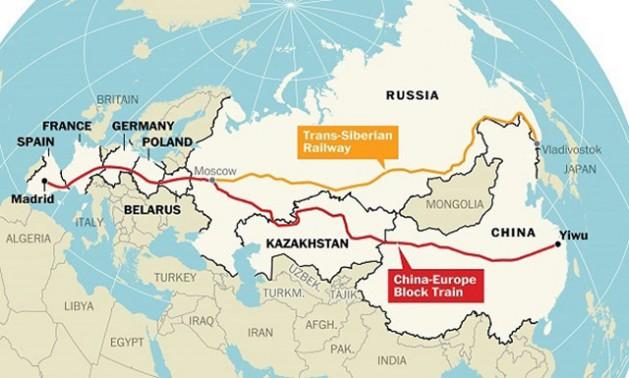 Modern Day China Map.China S Silk Geopolitics Inter Press Service
