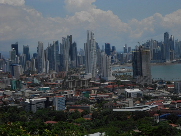 Panama City, one of the fastest growing metropolises in Latin America. The Third United Nations Conference on Housing and Sustainable Urban Development (Habitat III) will be held in Quito in October and will adopt the New Urban Agenda. Credit: Emilo Godoy/IPS