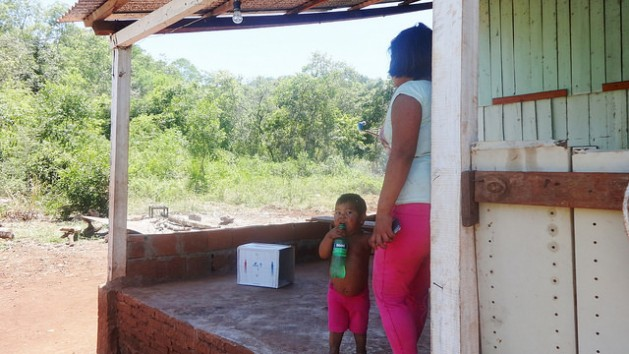 A teenage mother and her toddler in Bonpland, a rural municipality in the northern province of Misiones in Argentina. Latin America has the second highest regional rate of early pregnancies in the world, after sub-Saharan Africa. Credit: Fabiana Frayssinet/IPS
