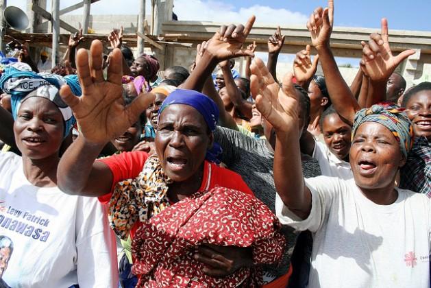 Civil society organisations help represent marginalised groups, such as women in politics. Credit:Richard Mulonga/IPS