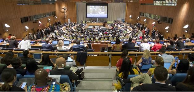 Ministerial Segment of the High-level Political Forum on Sustainable Development Goals. Credit: UN Photo/Manuel Elias.