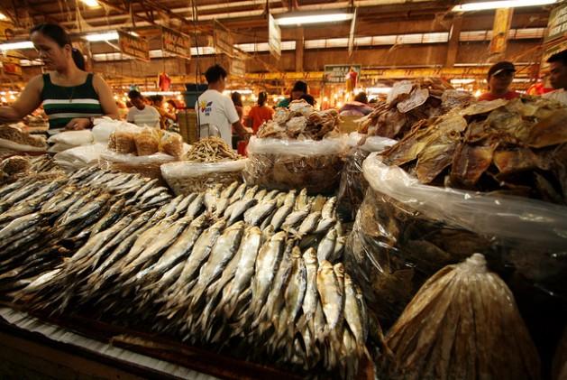 A fish market in the Philippines. Credit: Kara Santos/IPS.