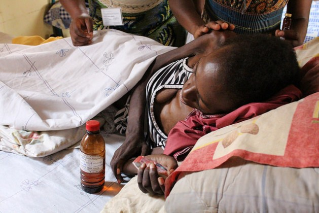 Jovia, who died on Apr. 29, 2016, suffered from both HIV/AIDS and cervical cancer, a deadly combination affecting thousands of women in Uganda. Credit: Amy Fallon/IPS
