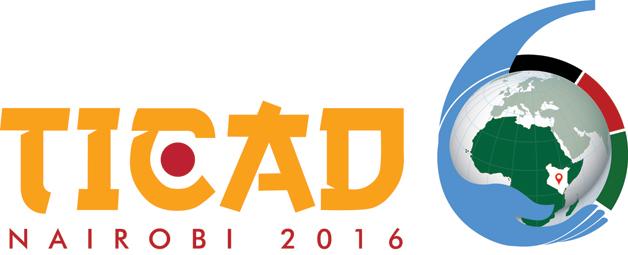 Logo of the Sixth Tokyo International Conference on African Development (TICAD-VI) Credit: TICAD VI. https://ticad6.net/#