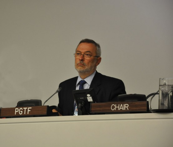 The PGTF's five-member Committee of Experts is chaired by Dr Eduardo Praselj.