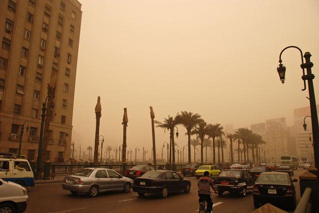 Air pollution in Cairo, Egypt. Credit: World Bank/Kim Eun Yeul. Source: UN News Centre
