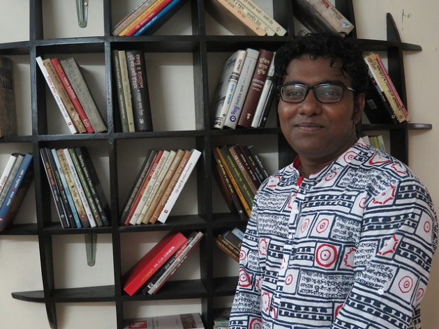 Maruf Rosul, a Bangladeshi writer and activist who has received death threats from Islamic militants for his blog posts. Credit: Amy Fallon/IPS