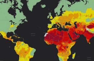 WHO interactive maps. Credit: World Health Organization