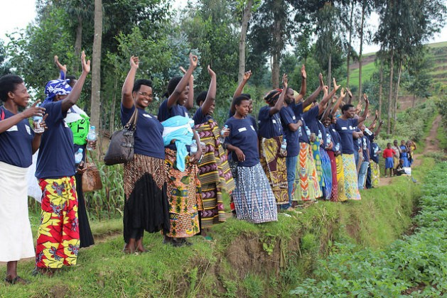 Potato Training for IP members of Kadahenda, Rwanda. Credit: International Potato Center Sub-Saharan Africa