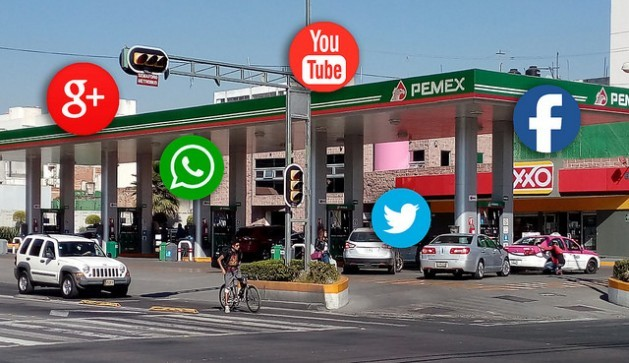 The social networks have played an important role in citizens' initiatives to organise protests against the gas price hike in Mexico and in the government's strategy to curb cyber-activism. Credit: Emilio Godoy/IPS