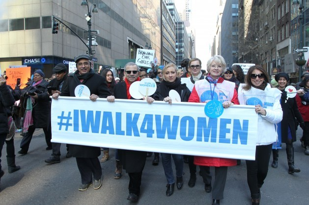 Participants in the 2015 New York March for Gender Equality and Women's Rights. Credit: UN Photo/Devra Berkowitz.
