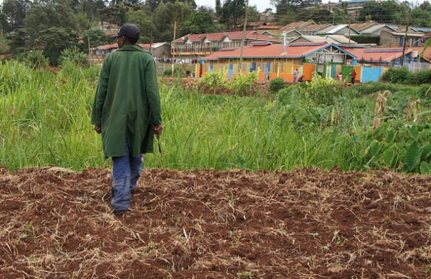 Once fertile agricultural land in Kenya is being degraded by encroachment and the effects of climate change. Credit: Miriam Gathigah/IPS