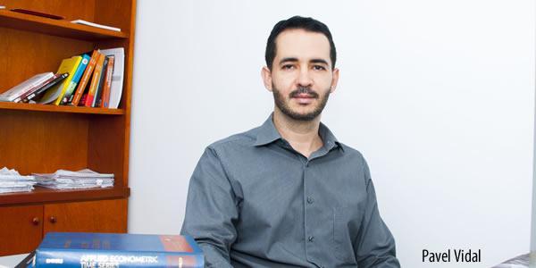 Economist and University Professor Pável Vidal. Credit: Universidad Javeriana de Cali