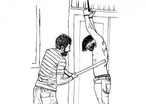 Prison beatings. © Amnesty International / Mohamad Hamdoun