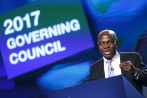 Gilbert Fossoun Houngbo, new president of IFAD.