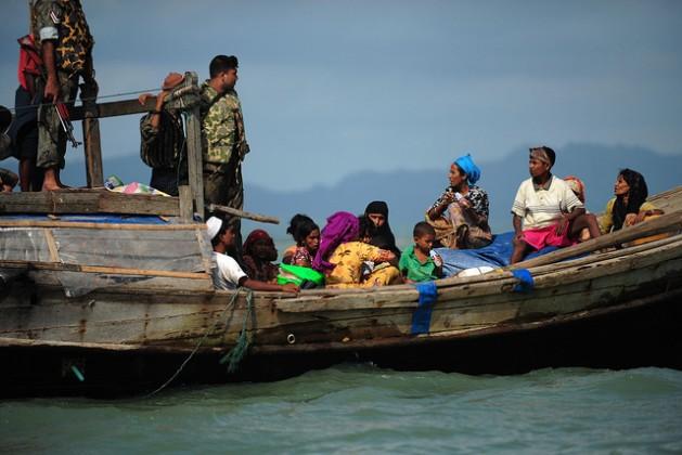 Refugees Rohingya from Myanmar. Credit: IPS