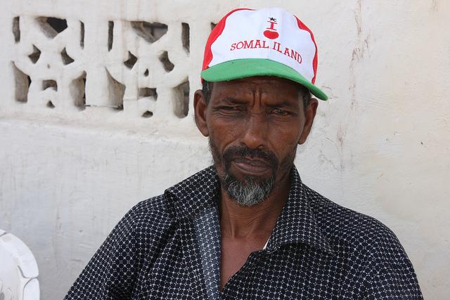 Abdi Muhammad, a veteran of the Somali civil war, makes his feelings clear. Credit: James Jeffrey/IPS