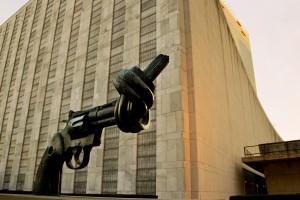 On Monday 27 March, UN talks will begin on a global nuclear ban treaty. Credit: UN Photo/Rick Bajornas