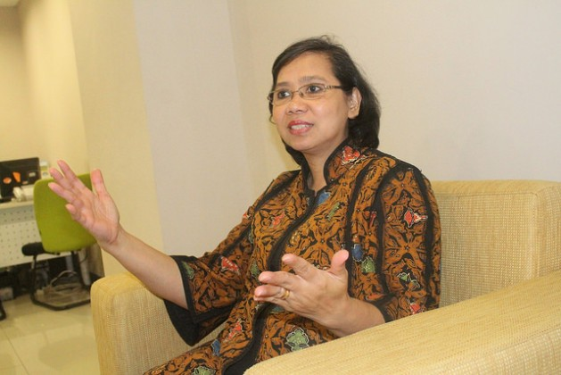 Lenny N. Rosalin, Deputy Minister for Child Growth and Development of Indonesia's Ministry of Women's Empowerment and Child Protection. Credit: Kanis Dursin/IPS