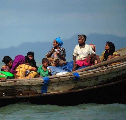 Rohingya refugees from Myanmar. Credit: IPS