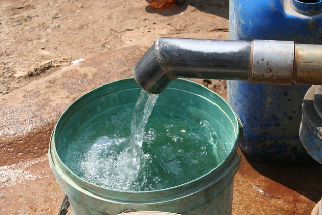 Clean water is still a pipe dream for more than 300 million Africans. Credit: Busani Bafana/IPS
