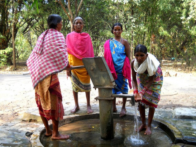 Clean drinking water is available to no more than half of Asia's population. Water is fundamental to the post-2015 development agenda. Manipadma Jena/IPS