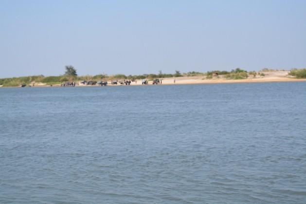 Section of the Zambezi River in Western Zambia. Credit: Friday Phiri